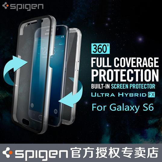 100% Spigen SGP Samsung Galaxy S6 Case Ultra Hybrid FX Case Cover