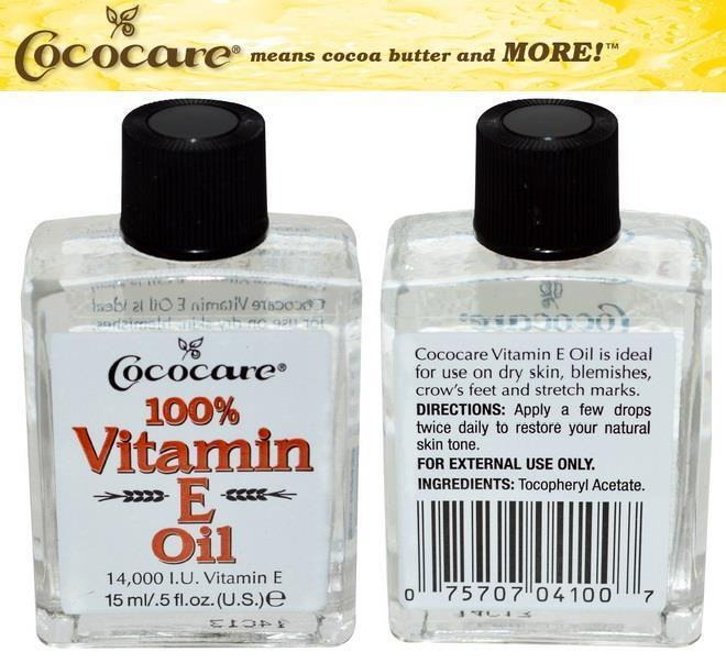 100% Vitamin E Oil 14,000 IU Vitamin E, Made in USA (15ml)
