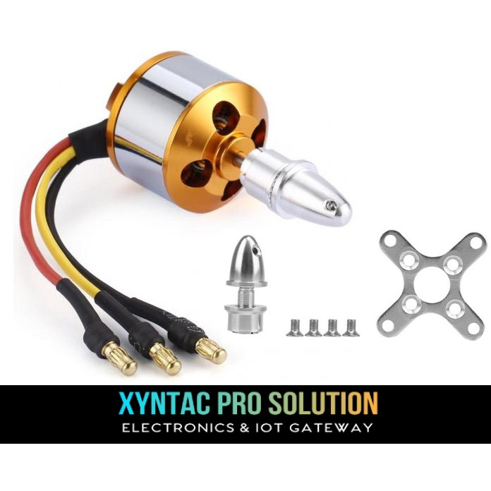 1000KV A2212 Brushless DC Motor With Soldered Connector BLDC For Drone