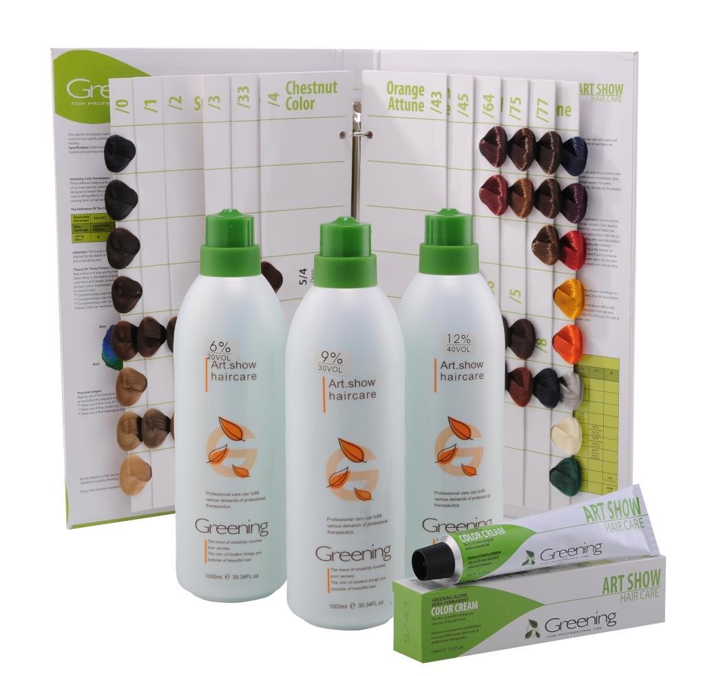1000ml Greening Hair Peroxide Cream Developer