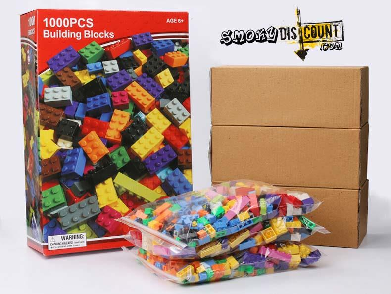 1000pcs Lego Compatible Building Blocks