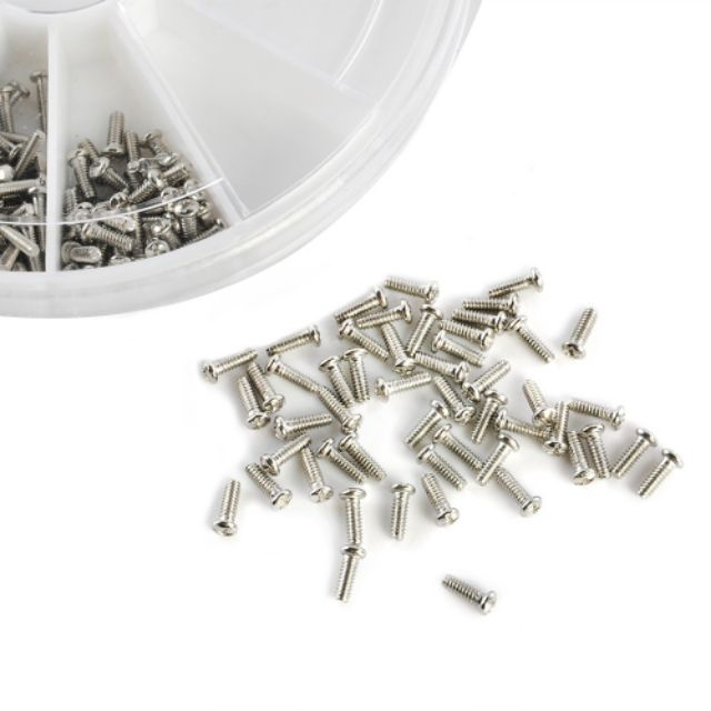 1000pcs Micro Glasses Sunglasses Watch Spectacles Screws Nuts Screwdriver Repa