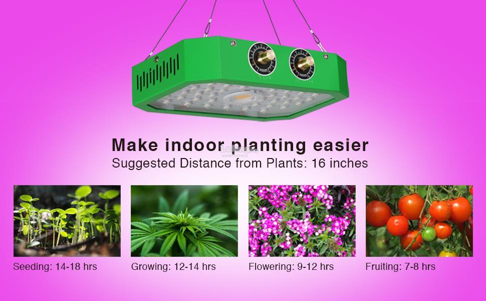 1000W LED Plant Grow Light Full Spectrum VEG BLOOM Flower Hydroponic
