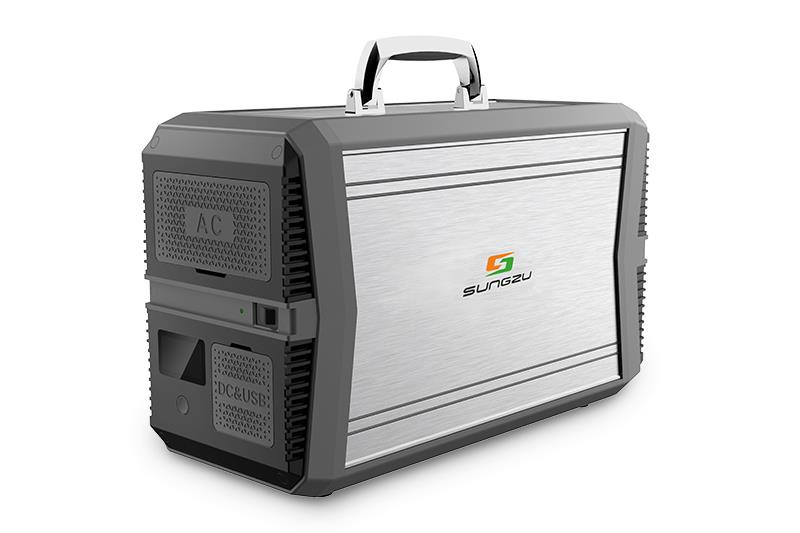 1000W Portable New Energy Power Supply Back Up Solar Generator