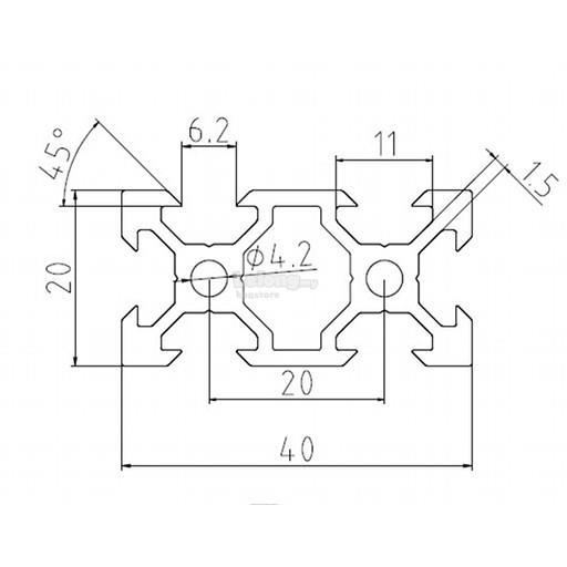 1005mm aluminium profile v 23  2020 12 15 pm