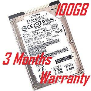 "100GB Branded IDE PATA 2.5 inch Laptop Notebook Hard Disk 2.5"" HDD"