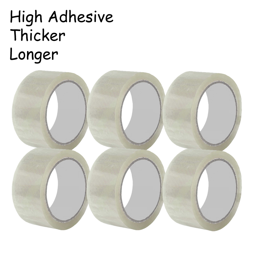 100m Transparent OPP Tape Packing Tape 50Mics thickness