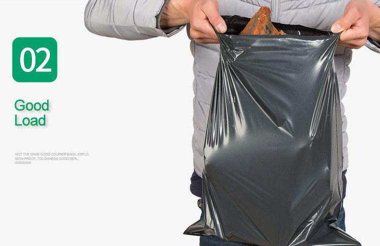 100pc Courier Plastic Bag Flyers Flyer Beg Kourier Post Bungkusan S L