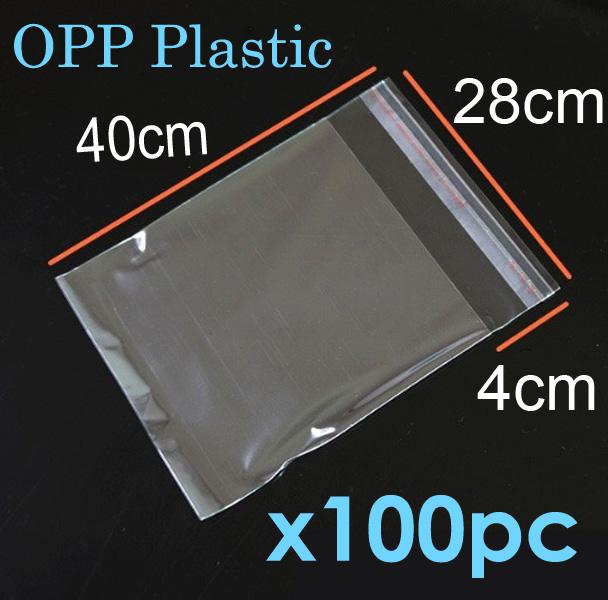 100pc Opp Clear Plastic Bag Peel Se End 5 22 2021 12 00 Am