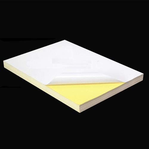 100pcs A4 Sticker Paper (Glossy/Mirrorkote) Self-Adhesive Print