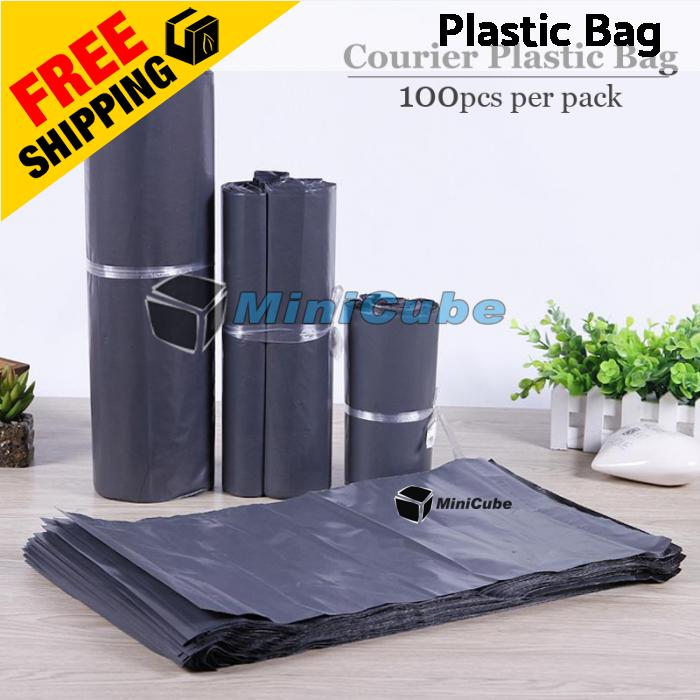 100pcs Courier Bag Pos Packaging Shipping Plastic Mailing Flyer