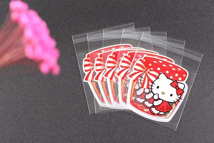 100pcs Hello Kitty Self Adhesive Pla (end 4 5 2020 11 15 PM) b24edc34dfaa1