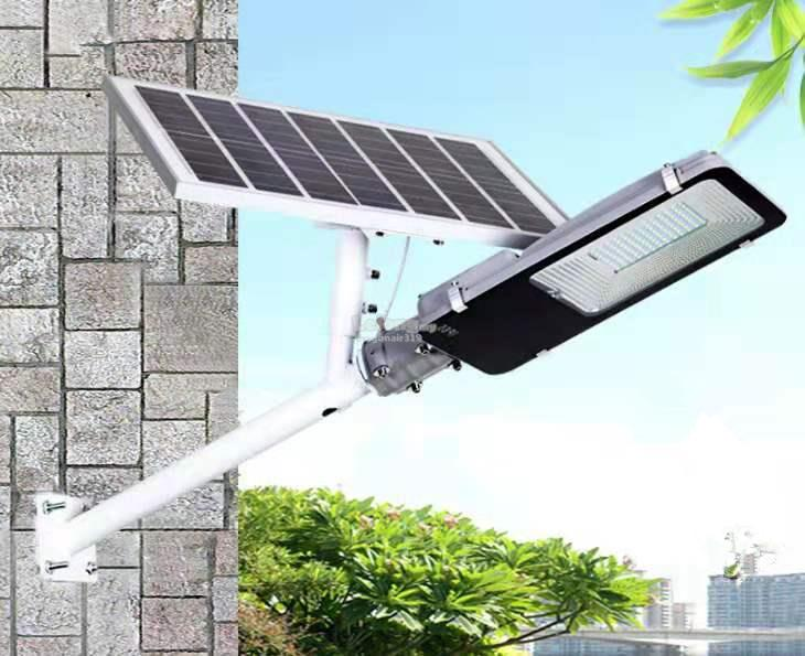 100w Solar Led Street Light Lantern Lamp