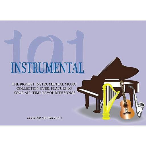 101 Instrumental Pan Pipes, Harp, Latin Guitar, Piano, Sax & Guitar (