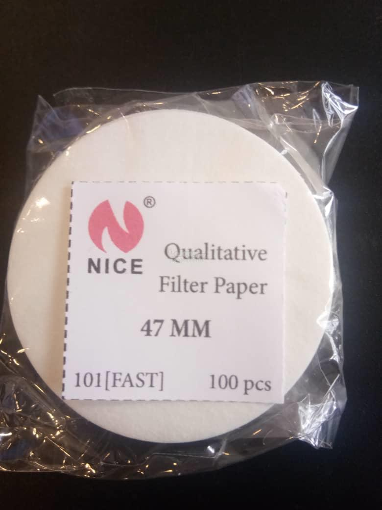 101 Qualitative Filter paper 47mm (Equivalent to Whatmann No.4)