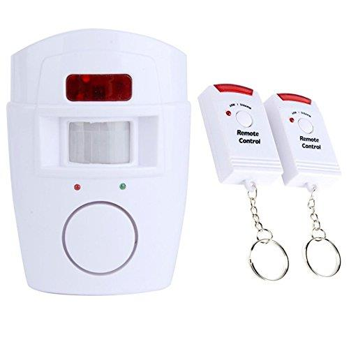 105db Infared Wireless Anti-theft Monitor Remote Control Sensor Alarm