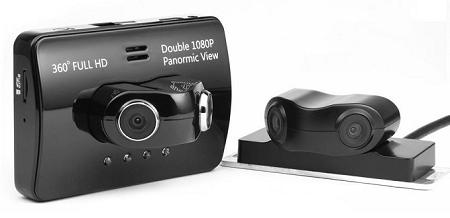 1080P IR Car Camera With 4 Lens (360 Degree, HDMI) (WCR-24A).