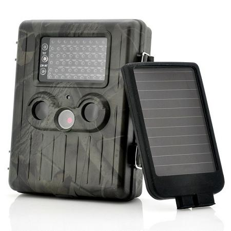 1080p Motion Detect Trail Camera + Solar Panel (WP-HT06)!