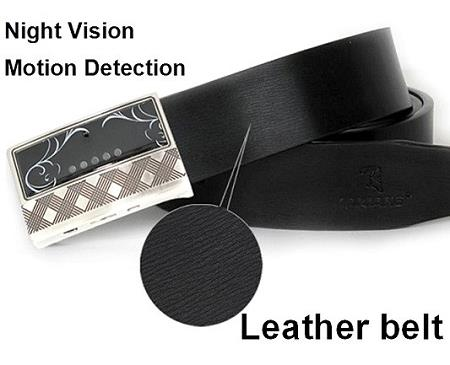 1080P Night Vision Belt Camera DVR With Motion Detect (DVR-07A).