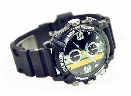 1080P Sport IR Night Vision Watch Camera DVR (WCH-22).