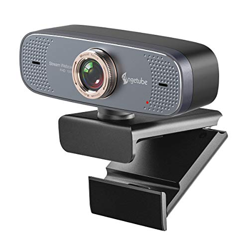 1080P USB Webcam with Mic PC Camera for Video Calling  & Recording Video Confe