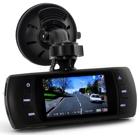 1080P Wide Angle 2.7 Inch Car DVR (WCR-19A).