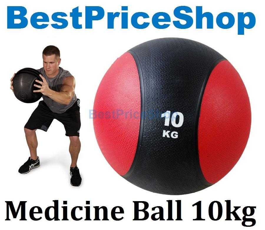 10kg Rubber Gravity Fitness Exercise Medicine Ball Gym Muscle Balls
