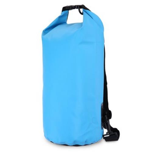 e80601fbd359 10L WATERPROOF DRY TUBE PCV BAG FOR OUTDOOR ACTIVITIES (BLUE)