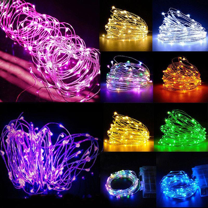 10m Led Outdoor Decorative Light Holiday Christmas Lights String