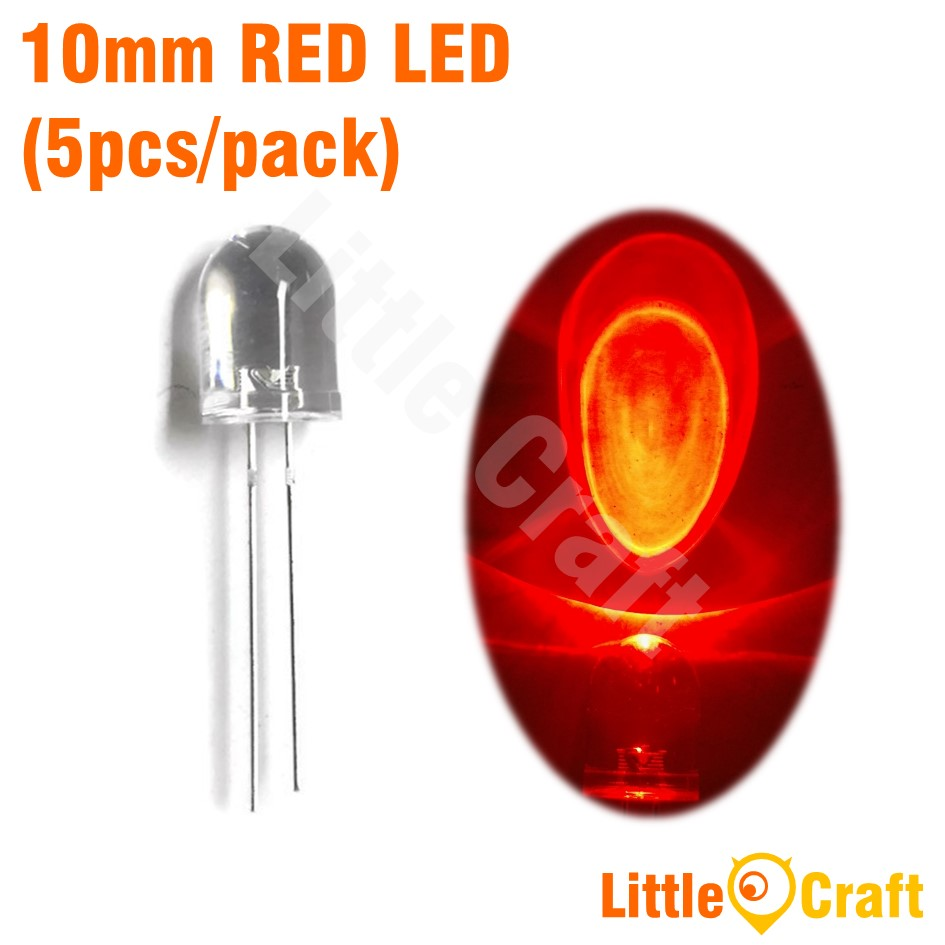 10MM Round Head Transparent LED