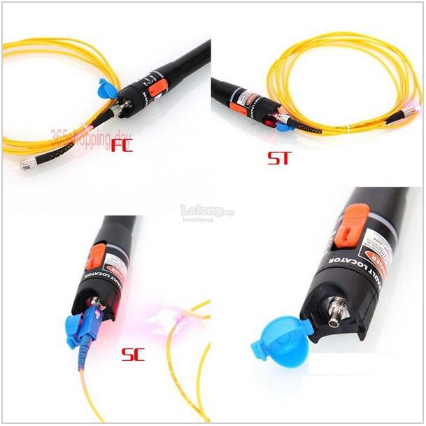Fiber Optic Fault Locator : Mw fiber optic tester fault locato end pm