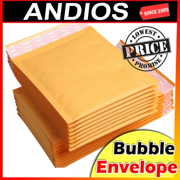 10pc-Double Layer Bubble Wrap Envelope Mailer Surat Kertas Kraft