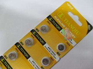 *10pcs~(1pack) AG3 392A LR 41 SR41SW LR SR 736 392 CX 41 watch battery