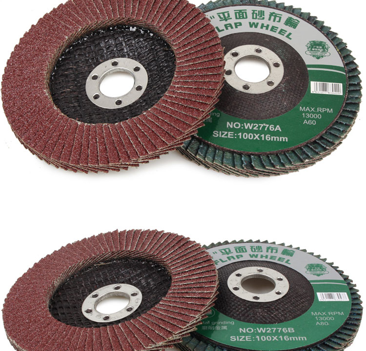 "10Pcs 4"" Wynns Flap Disc 100x16mm W2776 Flap Wheel"