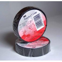 10Roll 3M Electrical Insulating Tape Black Color #1500 Small