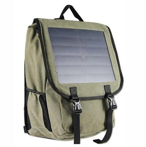 10W Solar panel Backpack Power Bank (PB-12C).