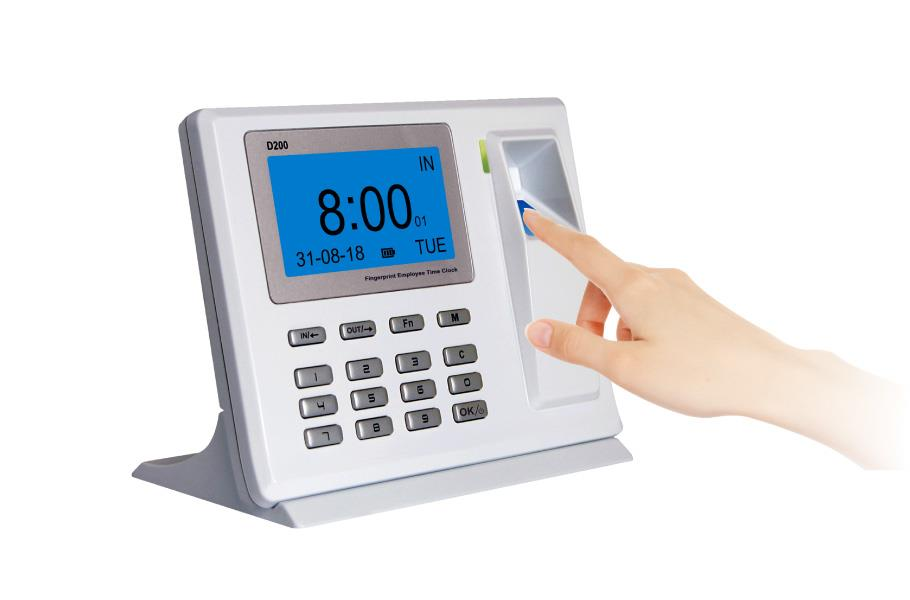 [11.11] Fingerprint Standalone Time Attendance Device - ANVIZ D200