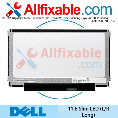 "11.6"" Slim LED 40pin (L/R Long) LCD For Dell Inspiron 11 11-3138"