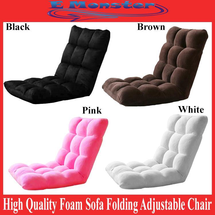 Wondrous 110 X 53Cm Premium Fabric Sofa Bed Foam Foldable Adjustable Lazy Chair Gamerscity Chair Design For Home Gamerscityorg