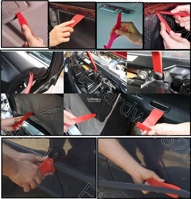 11PCS CAR TRIM UPHOLSTERY REMOVAL PRY BAR SET (3322-5625)
