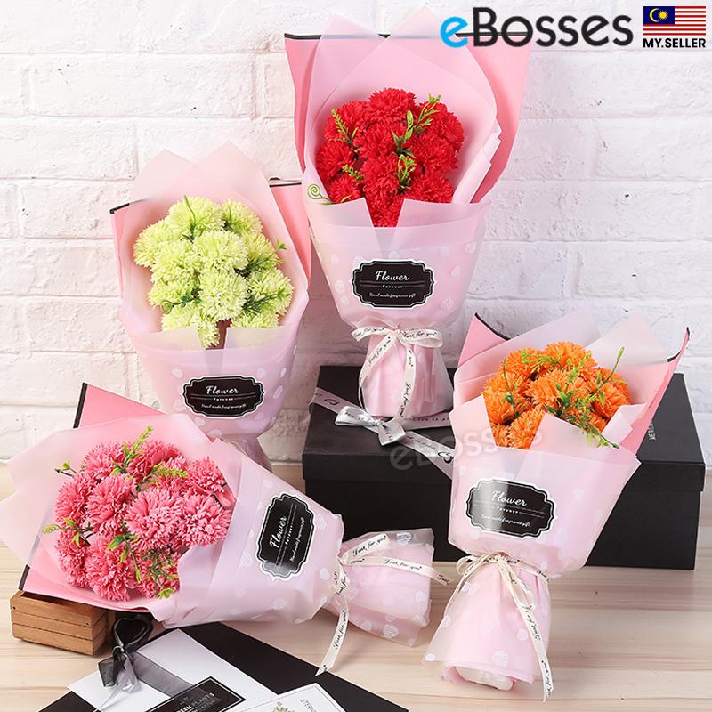 11Pcs Carnations Soap Flower Bouque (end 10/16/2020 5:45 PM)