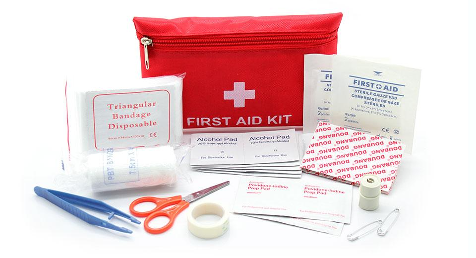 12-in-1 Outdoor Emergency First Aid Kit Bag
