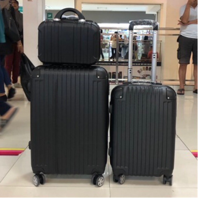 12 /20 /24 Abs Luggage - Include Shipping Fees - Acrylon - [BLACK,12?]