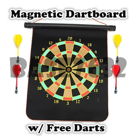 12 Inch Magnetic Dartboard Dart Board Set Children Toy Gift Fun