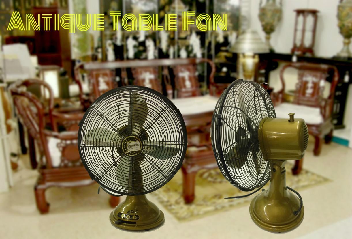 12 Metal Antique Electric Fan Table Fashion Vintage