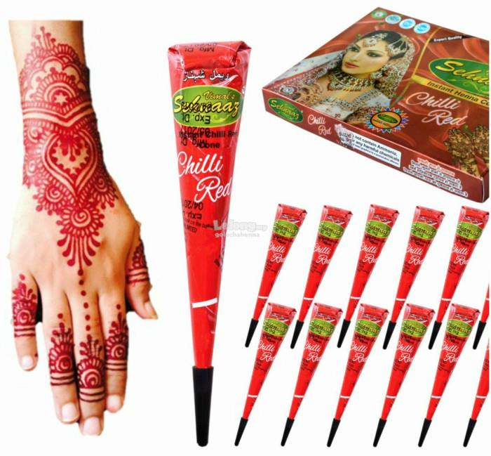 12 Pcs Golecha Red Henna Sehnaaz Ch End 1 28 2020 4 15 Am
