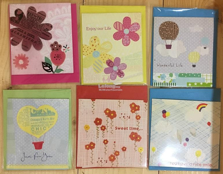 12 pcs Mini 2D3D greeting card mix end 1232017 1049 AM – How to End a Birthday Card