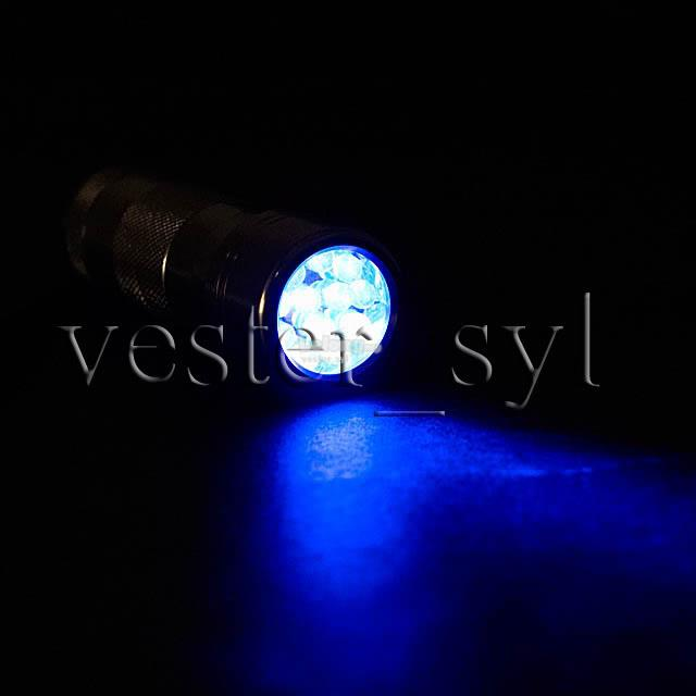 12 UV LED Ultra Violet Flashlight