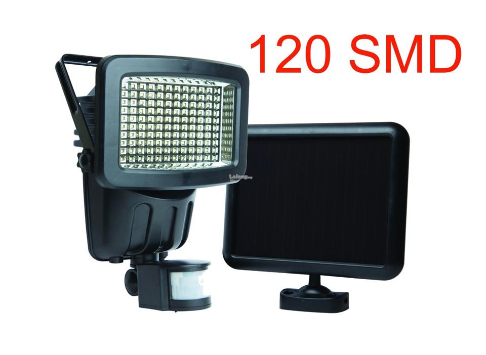 Led motion activated solar pan end pm