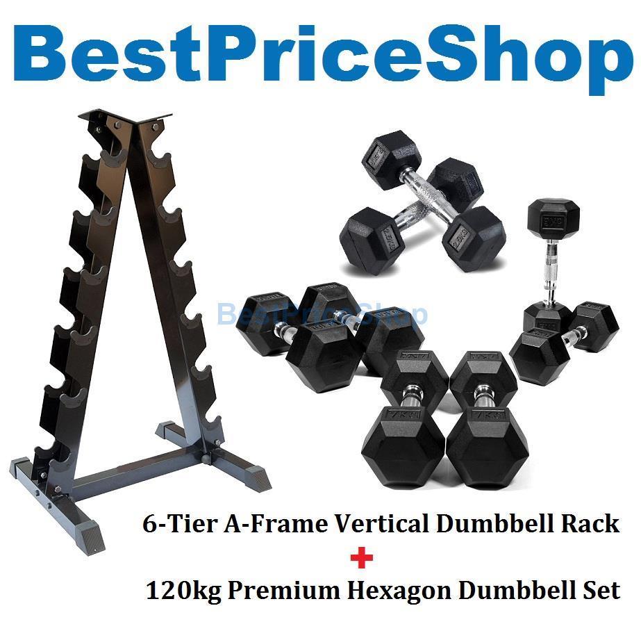 Dumbbell Set Mr Price Sport: 120kg Premium Hexagon Dumbbell Set W (end 7/26/2019 3:23 PM